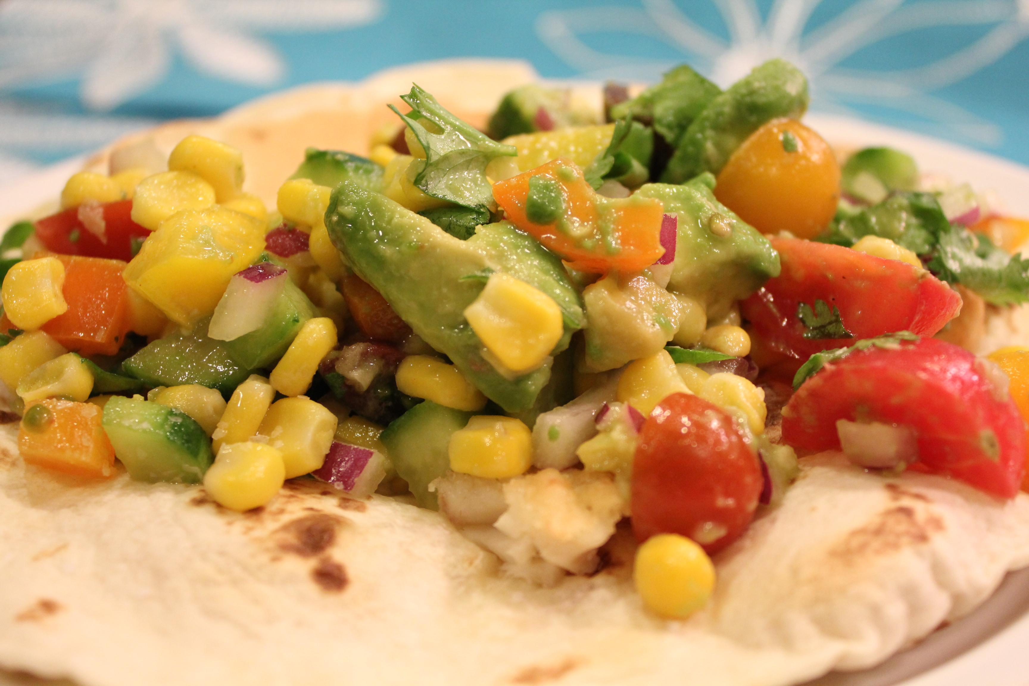 Fresh Fish Tacos! - Hip Foodie Mom